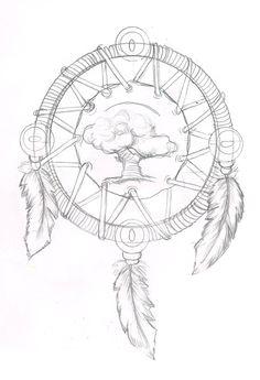 Medicine wheel. by ~InkyDinkyWho on deviantART