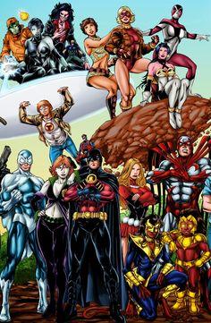 Golden Age Little Boy Blue DC Comics - Yahoo Image Search Results Arte Dc Comics, Dc Comics Superheroes, Marvel Comics, Batgirl, Nightwing, Superhero Characters, Dc Comics Characters, Book Characters, Teen Titans