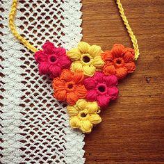 cozamundo spring crochet necklace