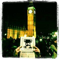 Spotted Verdi having fun in London! Thanks to Desirè. #VerdiMuseum #FoundVerdi @#VerdiMuseum