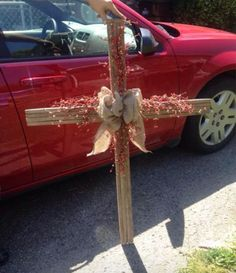 Tobacco Stick Cross by KentuckyCraftHouse on Etsy