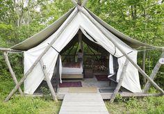 Spotlight On: Firelight Camps — Escape Toronto New York Blog, Camps, Bouldering, Glamping, Ontario, Outdoor Gear, Toronto, Tent, Cottage