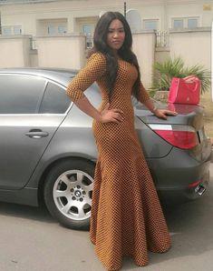 African print dressAfrican clothing for womenAnkara | Etsy