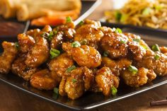 Panda Express Orange Chicken Copycat -- Fast Food Hacks: 17 Top Copycat Recipes : i The Dish by KitchMe Ww Recipes, Copycat Recipes, Asian Recipes, Dinner Recipes, Cooking Recipes, Healthy Recipes, Atkins Recipes, Pureed Recipes, Recipies
