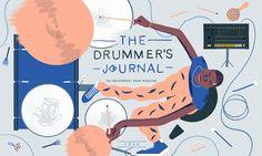 Drummer's Journal Cover on Behance