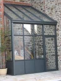 Search result for sas entree verriere Cottage Extension, House Extension Design, House Design, Pergola Patio, Backyard, Pergola Kits, Sas Entree, Glass Porch, Glass Extension
