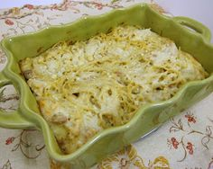 Plain Chicken: Cheesy Chicken Spaghetti Casserole
