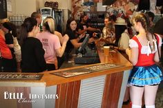 Octoberfest fun at Feral Brewery during a wine tour. #swanvalleytours http://www.belle.net.au/swan-valley-wine-tours/