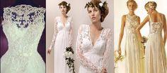 Vestidos de noiva de crochê