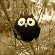 Knit owl pattern