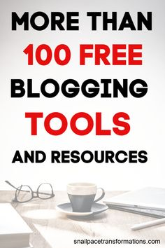 More Than 100 Free Blogging Tools And Resources For Growing A Blog #bloggingtools #blogging101 Declutter Books, Survey Companies, Blog Planning, Blog Topics, Free Blog, 100 Free, Blogging For Beginners, Snail, Social Media