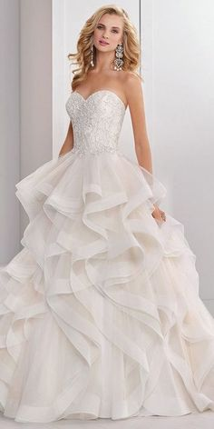 Exquisite+Tulle+Sweetheart+Neckline+Natural+Waistline+Ball+Gown+Wedding+Dress+With+Beaded+Embroidery+&+Cascading+Ruffles+ If+you+need+a+custom+made+dress,+please+measure+youself+according+to+the+picture+guider+and+send+us+the+following+important+measurements: 1inch+=+2.54+cm 1.Full+Bust:=_...