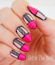 xxxxxx marks the spot #nailart http://@A Beauty Feature  | See more nail designs at http://www.nailsss.com/acrylic-nails-ideas/2/