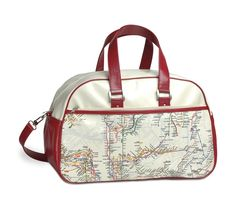 Subway map gym bag: $51.99