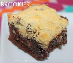 Bonjour!! Vous recherchez une recette &doudou&,hyper réconfortante?? J'ai ce qu'il vous faut!!!!!!!! Un brookies!!Mélange ultra gourmand de brownies et de cookies... Ici,on ne s'en lasse pas... Ingrédients(moule tablette Demarle) *Pâte à brownie 125g...