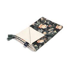Tavaszi-nyári takaró töltet nélkül - kétoldalas pamut-velvet - Blooming Boutique Noir - Bubbaland.hu Bloom, Velvet, Boutique, Boutiques