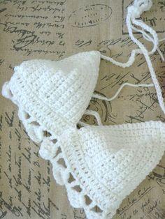 The Hailey Crochet Bralette Crochet Festival Top by bubbletealand