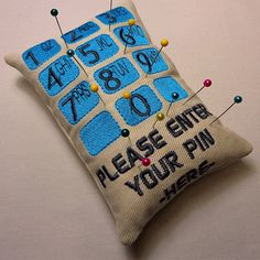 Make this very easy, yet functional and funky pin cushion. This will also make a lovely gift to a friend who loves sewing. You will need remnants