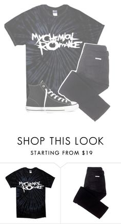 """""""☾;  """"i will not kiss you"""""""" by xx-beautifully-insane-xx ❤ liked on Polyvore featuring sass & bide and Converse"""