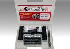 Promoción exclusiva Asturiana de Llantas y Neumáticos http://asturllantas.es/es/noticias/item/161-maletin-repara-pinchazos  MALETÍN DE REPARACIÓN BÁSICO PINCHAZOS Por la compra de 4 neumáticos, Asturiana de Llantas, le regala un maletín de reparación básico de pinchazos. Contiene: - Útil de perforación en T y plástico. - Útil de introducción en T y plástico. - Medidor de presión de 50 psi. - 20 Mechas. - 1 Tubo de pegamento. - 3 Parches de cámara. Promoción no acumalable a otras ofertas