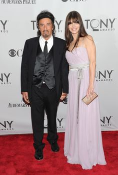 71-year-old Al Pacino stepped out with 31-year-old Argentinean actress Lucia Sola at the Tony Awards last weekend. The pair went public with their relationship in April of 2010, and Sola and her daughter live with Pacino in LA.