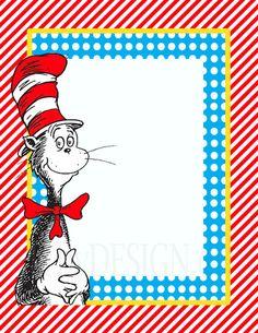 dr seuss teacher appreciation | DIY Printable Dr. Seuss Sign Templates by shydesign on Etsy