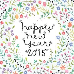 Happy New Year! Wherever you are and whatever you are doing I hope your 2015 is filled with happiness xxx 今年もよろしくお願いします!