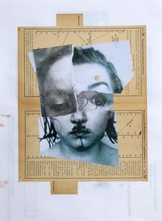 Collage, o. T., W. Strempler, 2016