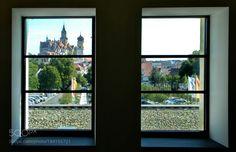 Burgblick by Archko  window tower castle Stadtbild Stadt Fenster Turm Blick Schloß Archko