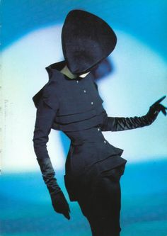 Thierry Mugler 'Black Russian suit' 1986-7