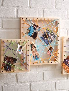 We Made It by Jennifer Garner String Art Gallery Frames // DIY Gallery Wall