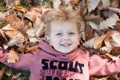 He loves fall