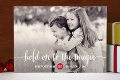 Magical Holiday Photo Cards, xmas card idea