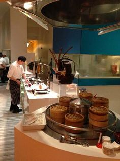 The Line Buffet at Shangri La Singapore is one of the best buffet restaurants in Singapore with Japanese, dim sum, desserts price in the ..Singapore-PC