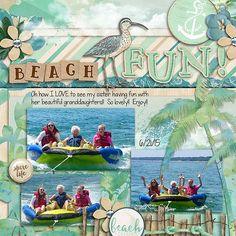 Beach Fun - Scrapbook.com