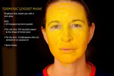 Turmeric Powder for Skin Whitening, Skin Lightening and Acne :  Turmeric is not only antiseptic but also have anti-inflammatory properties and so very beneficial for skin. Since ancient time, Indian women using turmeric for clear, healthy, younger looking and beautiful skin. Following are some home remedies for skin whitening, skin lightening, acne and perfect skin using turmeric powder.