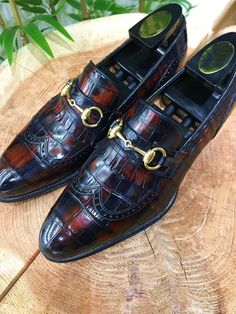 Alligator Tassel Loafer Formal Alligator Slip-On Shoes Gentleman Shoes, Tassel Loafers, Men S Shoes, Formal Shoes, Luxury Shoes, Shoe Game, Dress Shoes, Men Dress, Slip On Shoes
