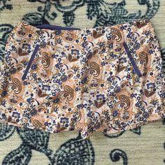 Paisley Summer Shorts A fun soft cloth paisley summer pair of shorts Forever 21 Shorts