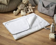 Stars and Stripes Roly Poly Changing Mat Clair De Lune Colour: Grey Changing Table Top, Changing Mat, Feeding Pillow, Terry Towel, Support Pillows, Tatty Teddy, Mattress Covers, Disney Winnie The Pooh, Tummy Time