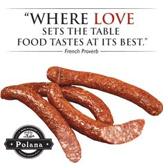 Food is the ingredient that binds us together. Bind Us Together, Polish Recipes, Some Words, Sausage, Food, Polish Food Recipes, Sausages, Essen, Meals