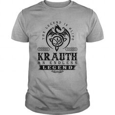 KRAUTH AN ENDLESS LEGEND T-SHIRT #name #tshirts #KRAUTH #gift #ideas #Popular #Everything #Videos #Shop #Animals #pets #Architecture #Art #Cars #motorcycles #Celebrities #DIY #crafts #Design #Education #Entertainment #Food #drink #Gardening #Geek #Hair #beauty #Health #fitness #History #Holidays #events #Home decor #Humor #Illustrations #posters #Kids #parenting #Men #Outdoors #Photography #Products #Quotes #Science #nature #Sports #Tattoos #Technology #Travel #Weddings #Women