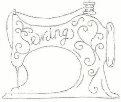 101 by Riscos & Rabiscos via… Hand Embroidery Patterns, Applique Patterns, Vintage Embroidery, Embroidery Applique, Vintage Sewing, Cross Stitch Embroidery, Machine Embroidery, Quilting Designs, Sewing Crafts