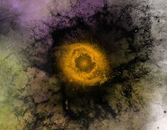"""Check out new work on my @Behance portfolio: """"Space Art - Galactic Eye"""" http://on.be.net/1mMwsSO"""
