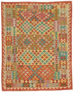 Kelim Afghan Old style matta ABCO45