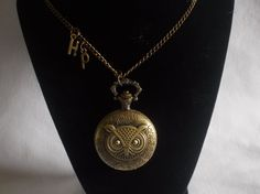 Harry Potter Inspired Hedwig Owl  Watch by paulandninascrafts