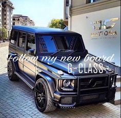 Hey! I have a new board for us, G-Class