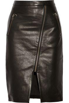 Mason by Michelle MasonLeather skirt