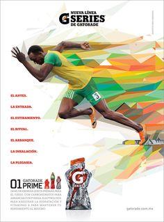 Gatorade Evoluciona & New Line G series  Illustration for 2 advertising…