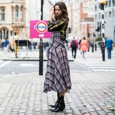 nice Street Style Outfit For Women 2017