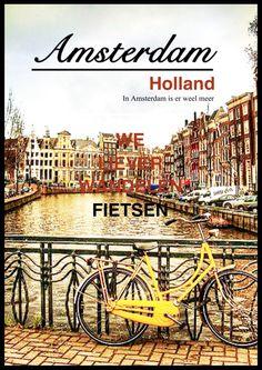Amsterdam - Phoster Alle fietsen